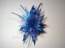 Фантазийный голубой цветок