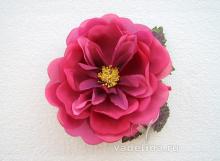 Роза красная, винтаж