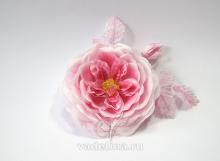 Роза раскрытая стилизованная