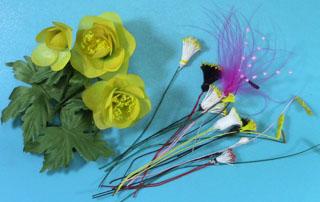 Серединка цветка с тычинками